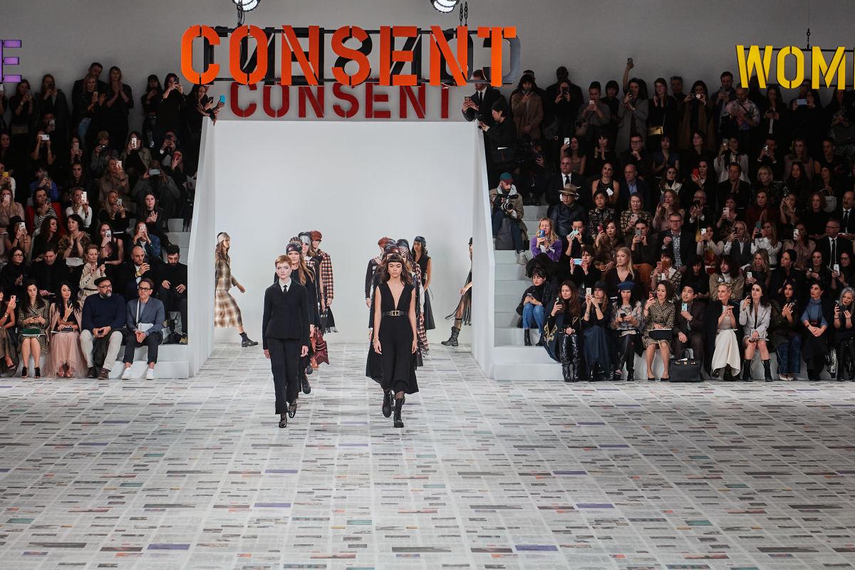 Dior's Feminist Fall 2020 Show